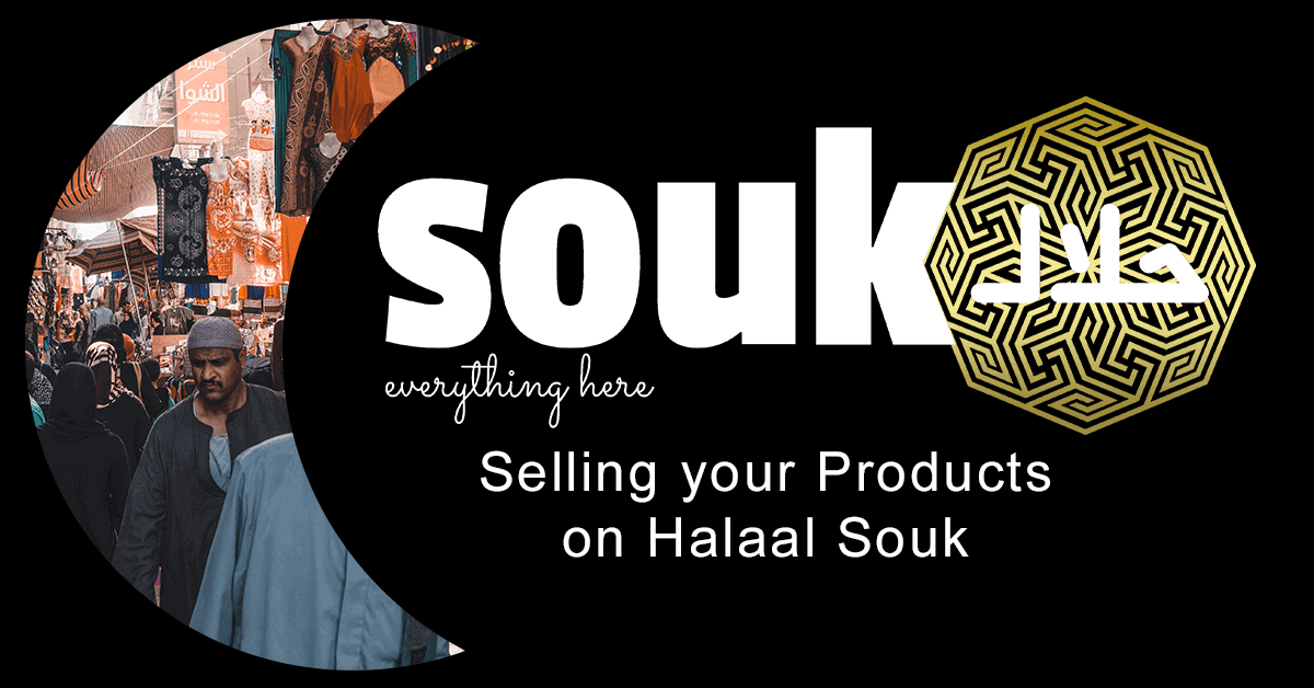 Selling your products on Halaal Souk